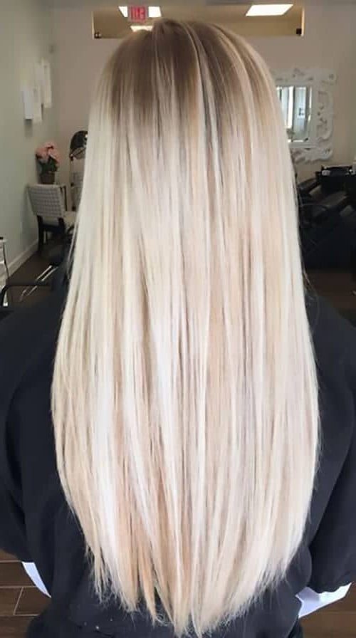 40 Best Blond Hairstyles That Will Make You Look Young Again Intended For Long Blonde Hair Colors (View 3 of 25)