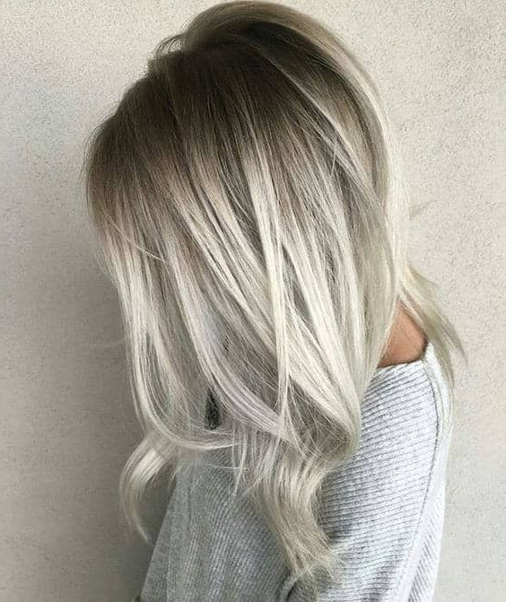 40 Best Blond Hairstyles That Will Make You Look Young Again Regarding Long Hairstyles From Behind (View 22 of 25)