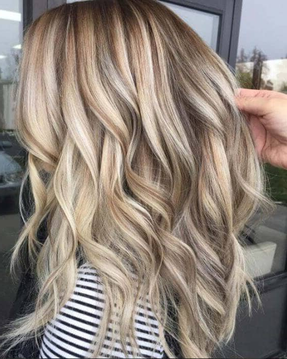 40 Best Blond Hairstyles That Will Make You Look Young Again With Long Hairstyles With Blonde Highlights (View 17 of 25)