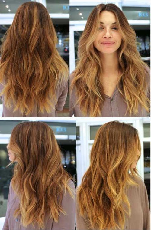 40+ Best Long Wavy Haircuts | Long Hairstyles 2015 & Long Haircuts Regarding Long Hairstyles Layered (View 6 of 25)