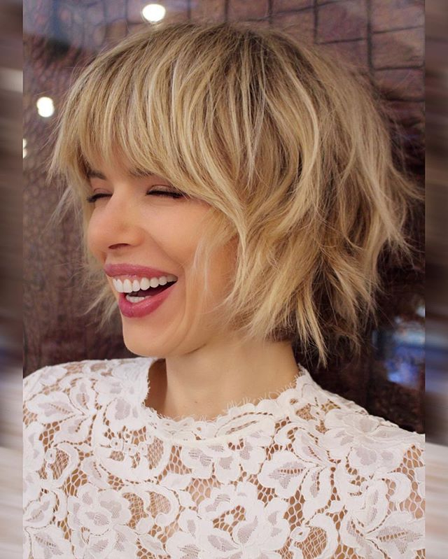40 Choppy Bob Hairstyles 2019: Best Bob Haircuts For Short, Medium In Messy Haircuts With Randomly Chopped Layers (View 24 of 25)