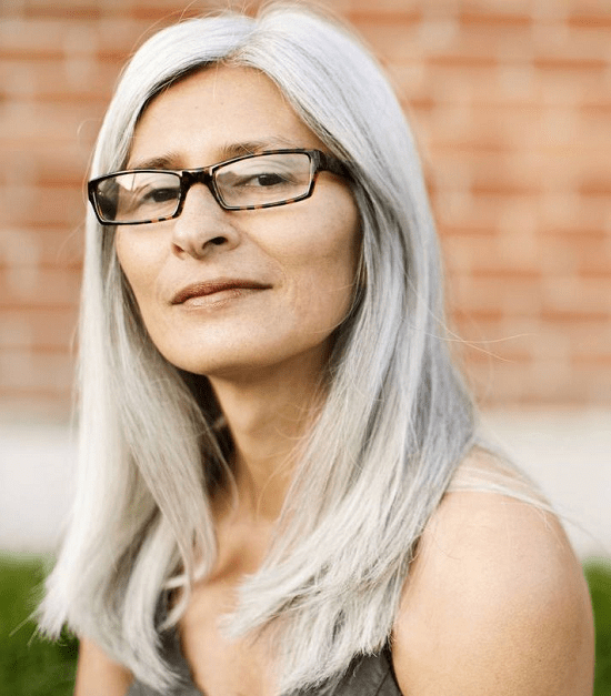 40 Classy Hairstyles For 50 To 60 Years Old Women With Glasses In Long Hairstyles With Glasses (View 12 of 25)
