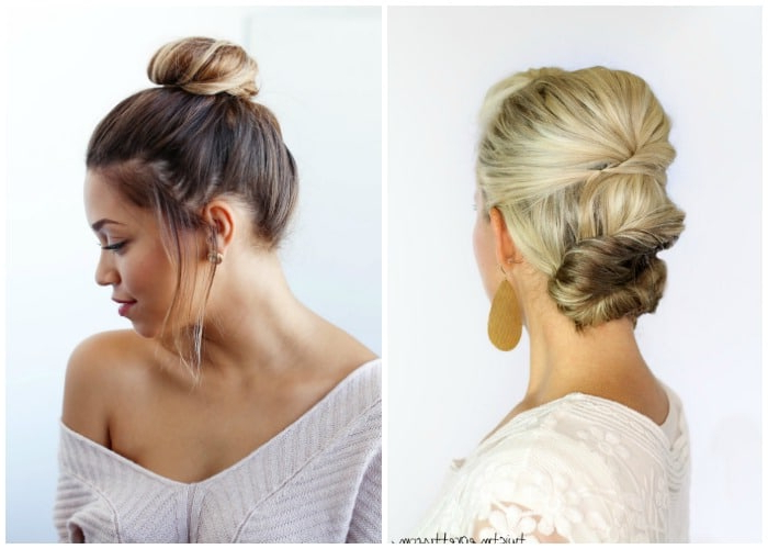40 Elegant Prom Hairstyles For Long & Short Hair   Somewhat Simple Regarding Accent Braid Prom Updos (View 21 of 25)