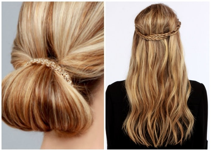 40 Elegant Prom Hairstyles For Long & Short Hair   Somewhat Simple Regarding Accent Braid Prom Updos (View 22 of 25)
