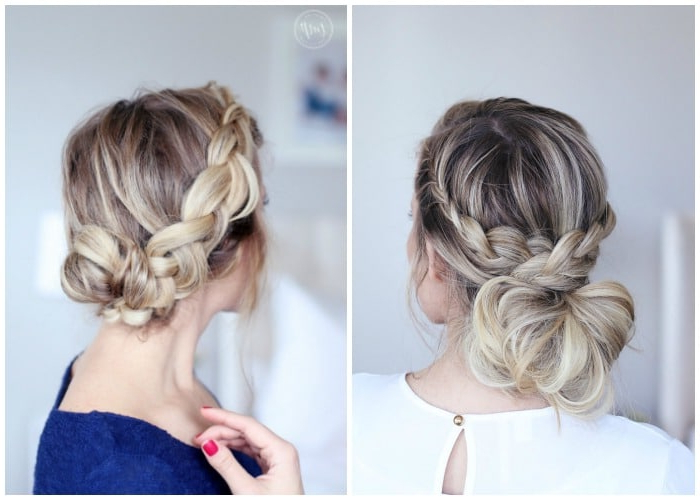 40 Elegant Prom Hairstyles For Long & Short Hair   Somewhat Simple Regarding Accent Braid Prom Updos (View 8 of 25)