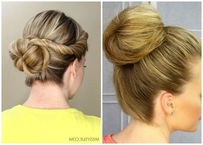 40 Elegant Prom Hairstyles For Long & Short Hair | Somewhat Simple With Fancy Knot Prom Hairstyles (View 14 of 25)