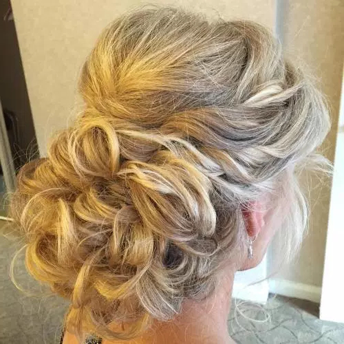 40 Elegant Wedding Updos | Page 8 Throughout Looped Low Bun Hairstyles (View 18 of 25)