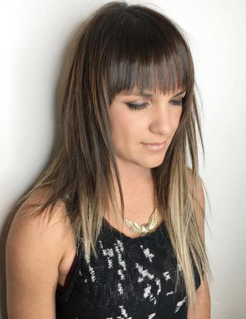 40 Eye Catching Asymmetrical Haircuts For Women – Page 13 Of 40 Throughout Long Jagged Hairstyles (View 4 of 25)