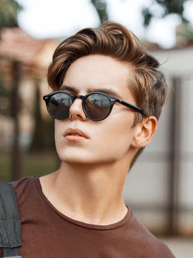 40 Favorite Haircuts For Men With Glasses: Find Your Perfect Style Inside Long Hairstyles With Glasses (View 25 of 25)