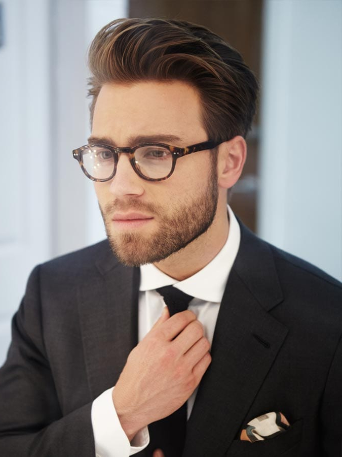 40 Favorite Haircuts For Men With Glasses: Find Your Perfect Style Regarding Long Hairstyles With Glasses (View 10 of 25)