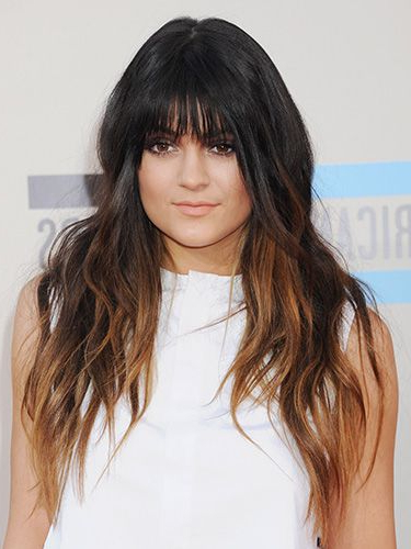 40 Fringe Hair Cuts For 2019 – Women's Hairstyle Inspiration In Long Hairstyles With Long Fringe (View 13 of 25)