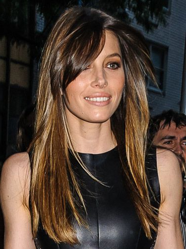 40 Fringe Hair Cuts For 2019 – Women's Hairstyle Inspiration Regarding Long Hairstyles With Side Swept Bangs (View 24 of 25)