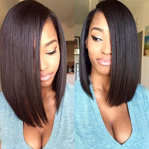 40 Hottest Bob Hairstyles & Haircuts 2019 – Inverted, Mob, Lob Throughout Long Black Bob Haircuts (View 8 of 25)