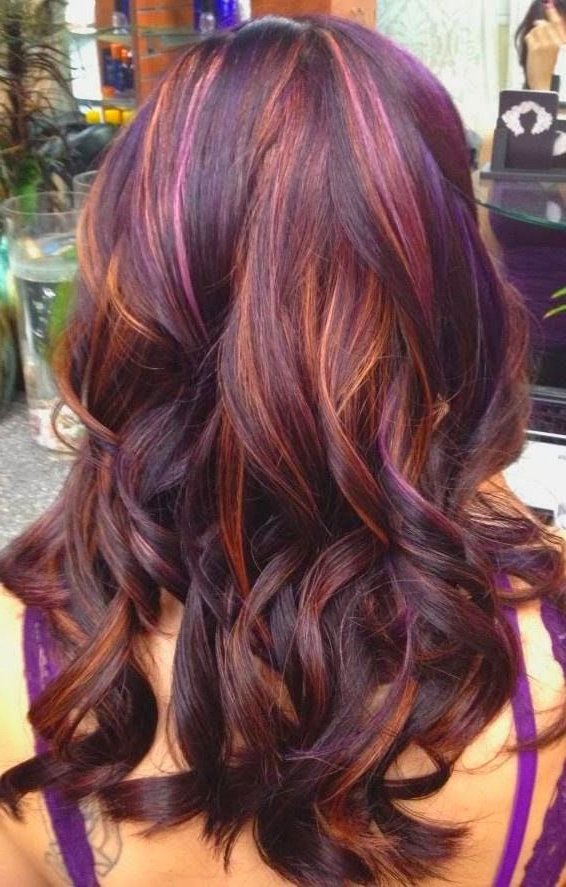 40 Latest Hottest Hair Colour Ideas For Women – Hair Color Trends In Long Hairstyles And Color (View 14 of 25)