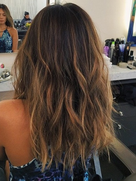 40 Latest Hottest Hair Colour Ideas For Women – Hair Color Trends Regarding Long Hair Colors And Cuts (View 18 of 25)