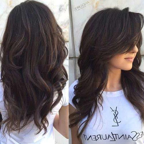 40+ Layered Haircuts For Wavy Hair – Long Hairstyles 2015 | Hair For Long Hairstyles Layered (View 7 of 25)