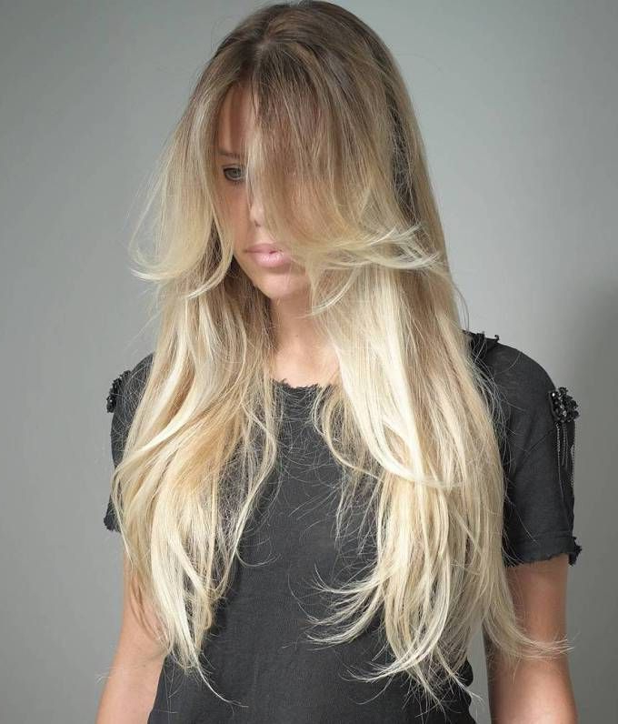 40 Long Hairstyles And Haircuts For Fine Hair | Hairstyles | Thin With Regard To Long Haircuts Thin Hair (View 4 of 25)