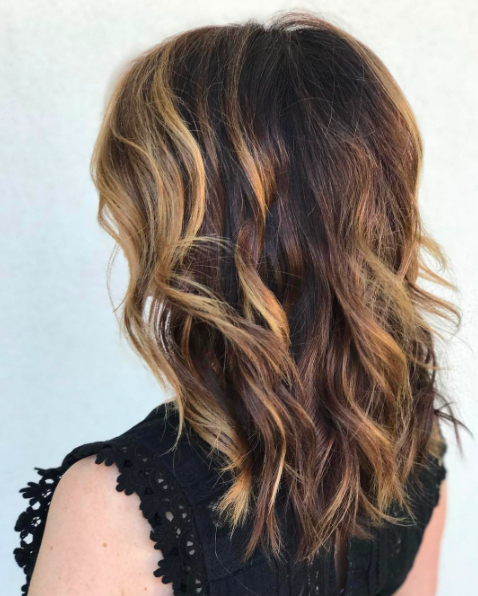 40 Long Layered Haircuts | Herinterest/ Inside Choppy Long Layered Haircuts (View 18 of 25)