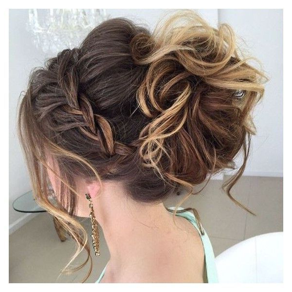 40 Most Delightful Prom Updos For Long Hair In 2016 Liked On For Accent Braid Prom Updos (View 5 of 25)