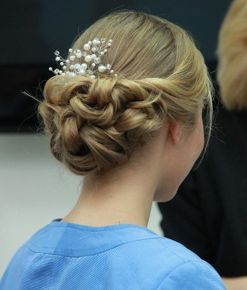 40 Most Delightful Prom Updos For Long Hair In 2019 | Prom Intended For Fishtail Florette Prom Updos (View 20 of 25)