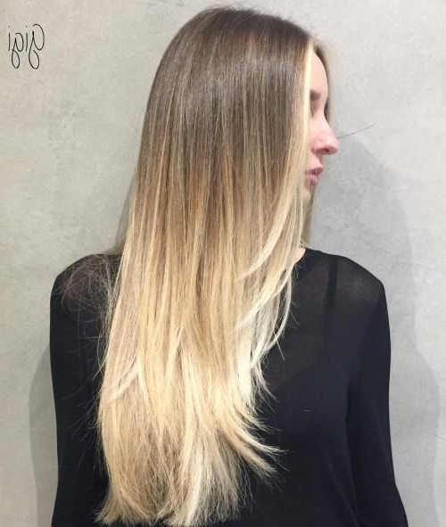 40 Picture Perfect Hairstyles For Long Thin Hair In 2019 | Primp Inside Long Haircuts For Thin Hair (View 6 of 25)