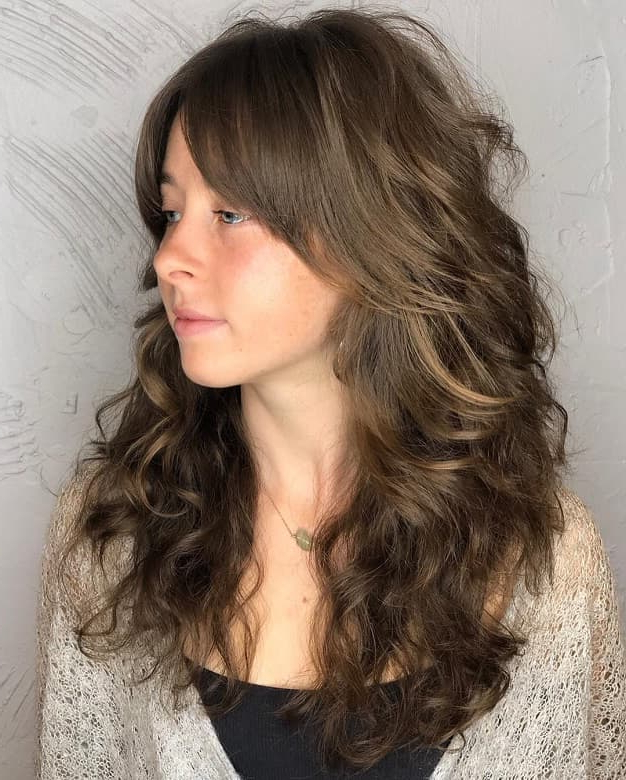40 Stupefying Long Shag Hairstyles To Copy – Hairstylecamp With Regard To Long Shaggy Layers (View 11 of 25)