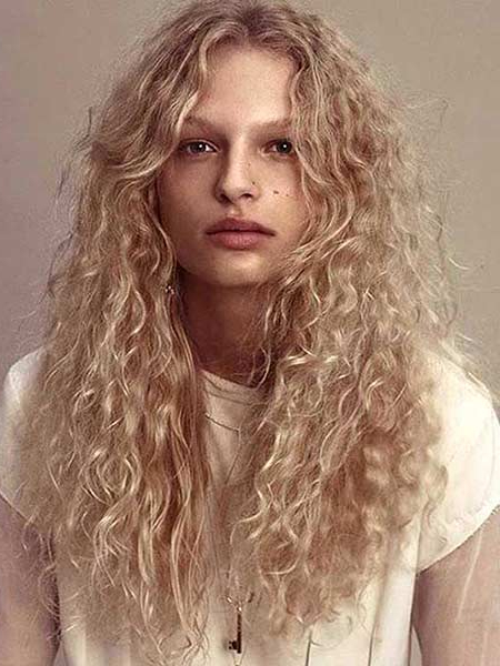 40 Styles To Choose From When Perming Your Hair Pertaining To Long Permed Hairstyles With Bangs (View 10 of 25)