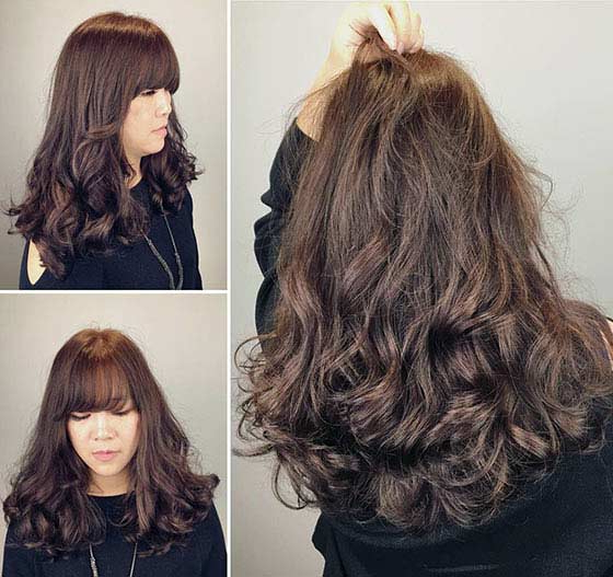 40 Styles To Choose From When Perming Your Hair Throughout Long Hairstyles Permed Hair (View 17 of 25)