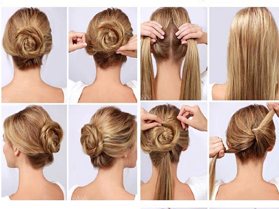40 Top Hairstyles For Women With Thick Hair With Casual Updos For Long Thick Hair (View 9 of 25)