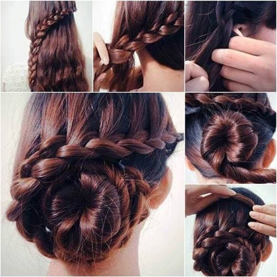40 Top Hairstyles For Women With Thick Hair Within Casual Updos For Long Thick Hair (View 15 of 25)