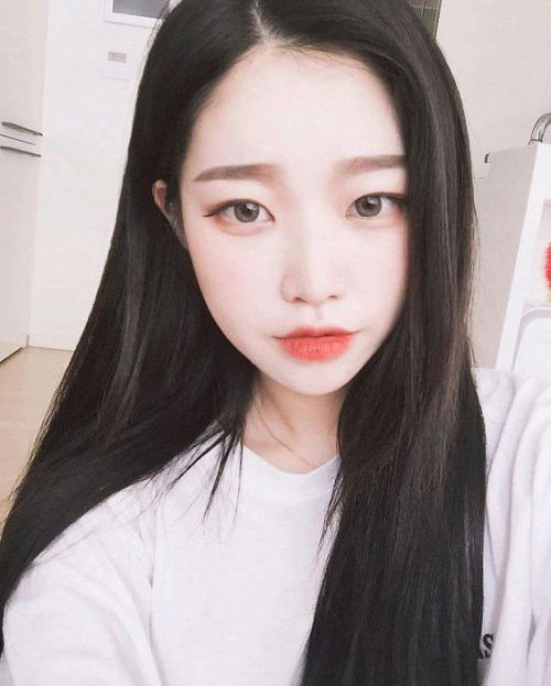40 Trendy Asian Hairstyles For Girls 2017 | Herinterest/ For Korean Girl Long Hairstyles (View 24 of 25)