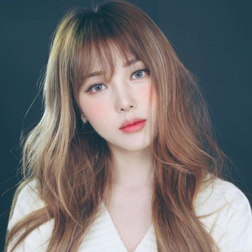40 Trendy Asian Hairstyles For Girls 2017 | Herinterest/ Regarding Trendy Long Hairstyles With Bangs (View 24 of 25)