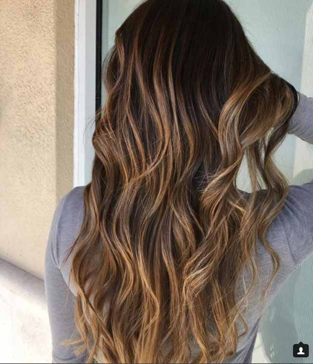 41 Balayage Hair Ideas In Brown To Caramel Shades – The Goddess Regarding Warm Toned Brown Hairstyles With Caramel Balayage (View 24 of 25)