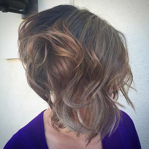 41 Best Inverted Bob Hairstyles | Stayglam For Hairstyles Long Front Short Back (View 12 of 25)