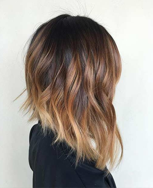 41 Best Inverted Bob Hairstyles   Stayglam Throughout Long Tapered Bob Haircuts (View 23 of 25)