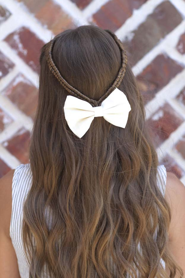41 Diy Cool Easy Hairstyles That Real People Can Actually Do At Home! With Long Hairstyles Easy And Quick (View 21 of 25)