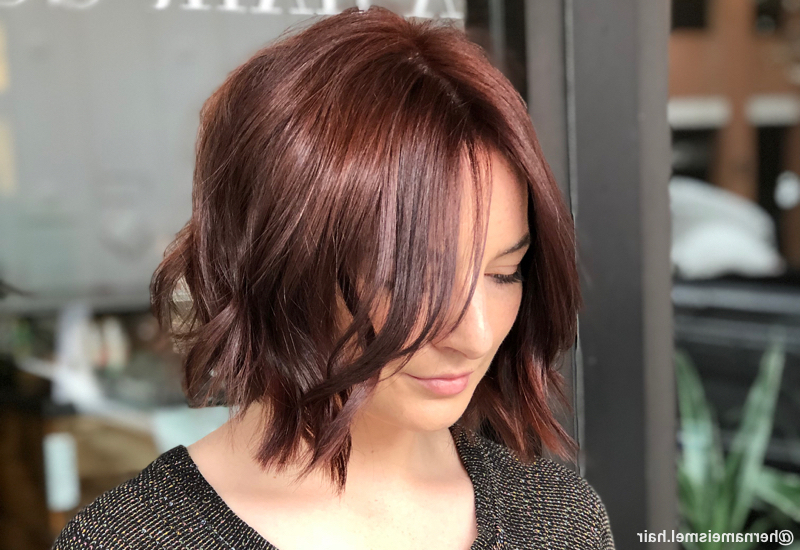 41 Flattering Short Hairstyles For Long Faces In 2019 In Long Hairstyles For Long Faces (View 2 of 25)