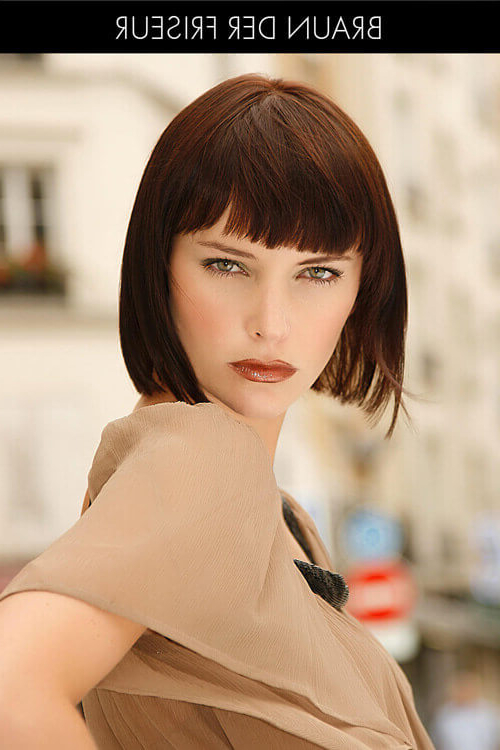 41 Flattering Short Hairstyles For Long Faces In 2019 Regarding Long Thin Face Hairstyles (View 18 of 25)