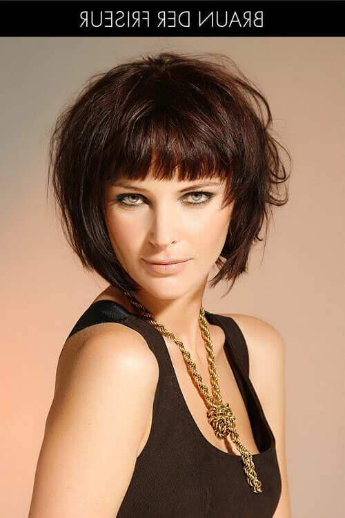 41 Flattering Short Hairstyles For Long Faces In 2019 With Haircuts For Long Fine Hair With Bangs (View 24 of 25)