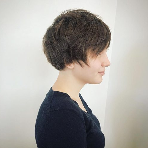 41 Flattering Short Hairstyles For Long Faces In 2019 With Sassy Long Hairstyles (View 24 of 25)