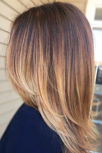 42 Chic Medium Length Layered Hair | Lovehairstyles Intended For Straight And Chic Long Layers Hairstyles (View 5 of 25)