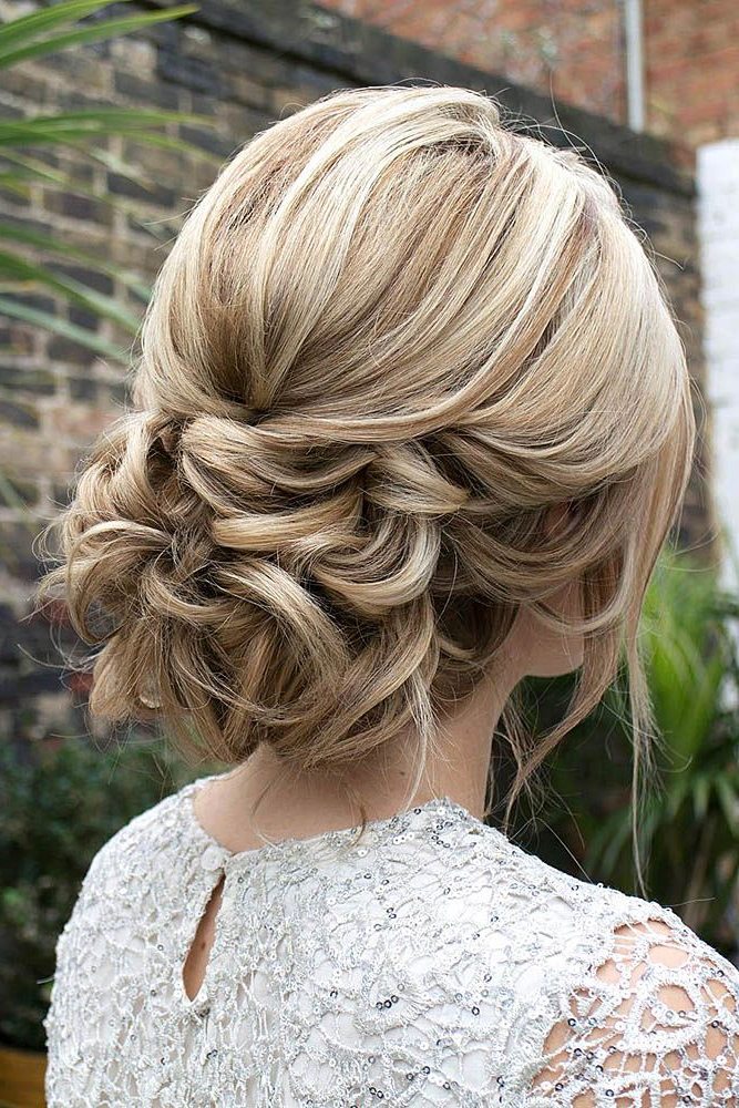 42 Wedding Hairstyles – Romantic Bridal Updos | Hair | Wedding Within Complex Looking Prom Updos With Variety Of Textures (View 6 of 25)