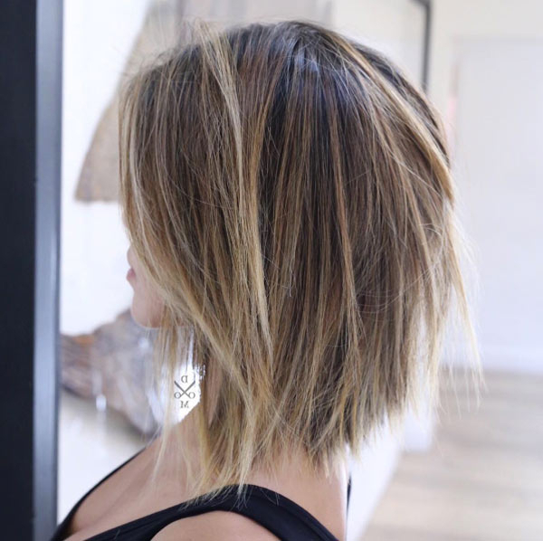 43 Picture Perfect Textured Bob Hairstyles – Style Skinner With Regard To Blonde Textured Haircuts With Angled Layers (View 23 of 25)