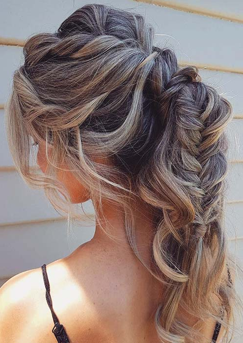 43 Stunning Prom Hair Ideas For 2019 | Page 4 Of 4 | Stayglam Within Double Crown Braid Prom Hairstyles (View 9 of 25)