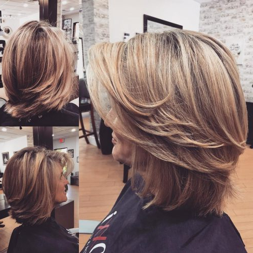 43 Youthful Short Hairstyles For Women Over 50 (With Fine & Thick Hair) Inside Long Hairstyles Ladies Over (View 21 of 25)