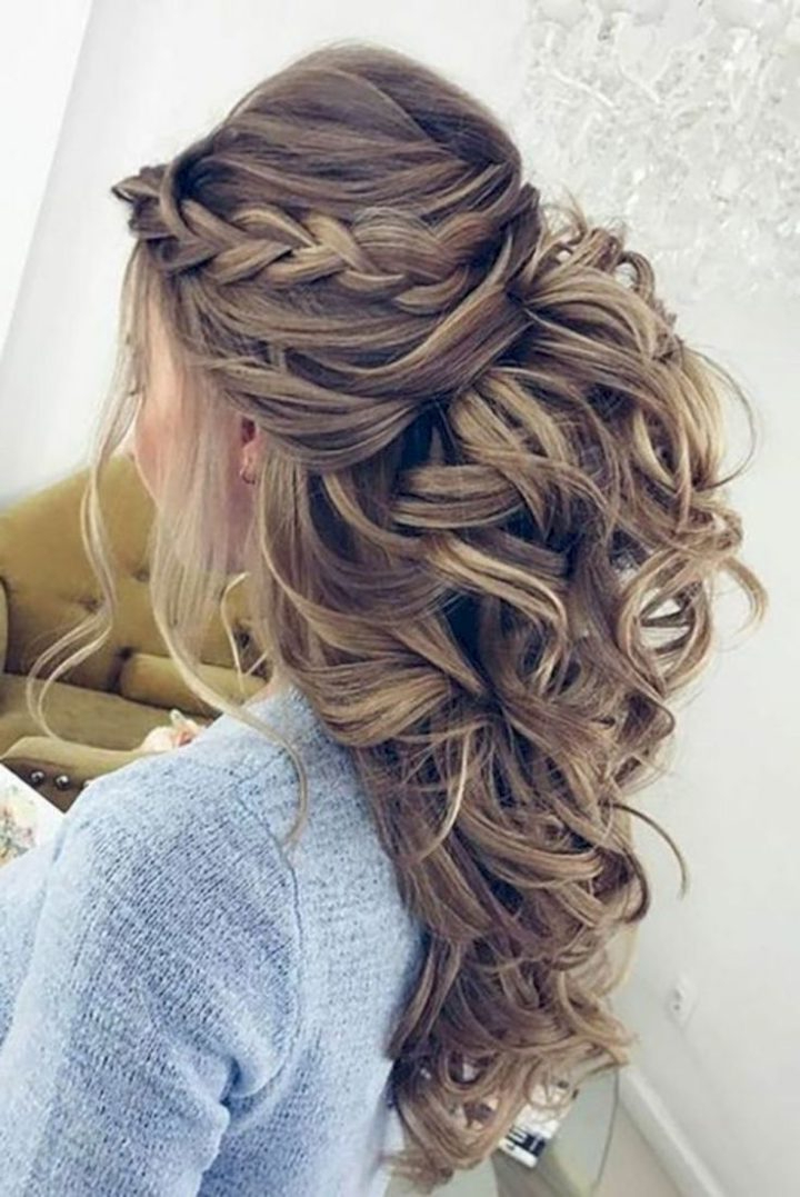44 Easy Formal Hairstyles For Long Hair | Pinstagram With Long Hairstyles Evening (View 17 of 25)