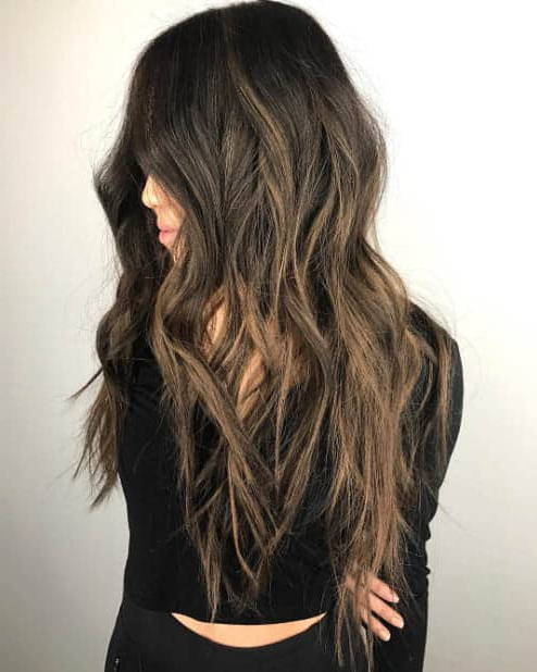 44 Trendy Long Layered Hairstyles 2019 (Best Haircut For Women) Pertaining To Messy Haircuts With Randomly Chopped Layers (View 3 of 25)