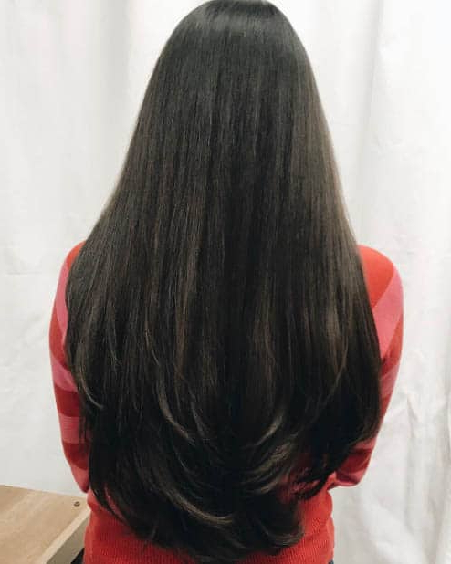 44 Trendy Long Layered Hairstyles 2019 (Best Haircut For Women) Regarding Long Layered Black Haircuts (View 18 of 25)