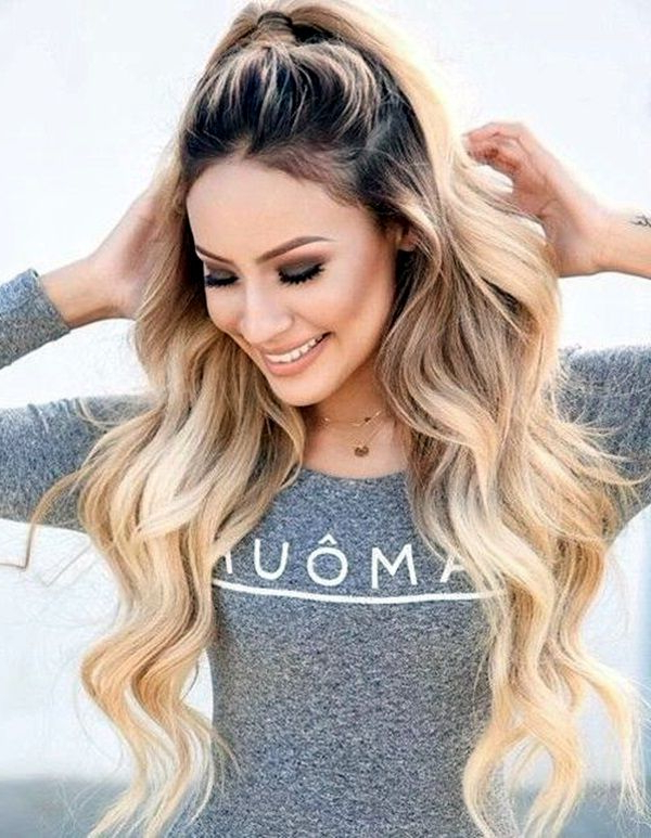 45 Easy Hairstyles For Long Thick Hair | Eye Makeup | Long Hair With Regard To Long Easy Hairstyles Summer (View 17 of 25)