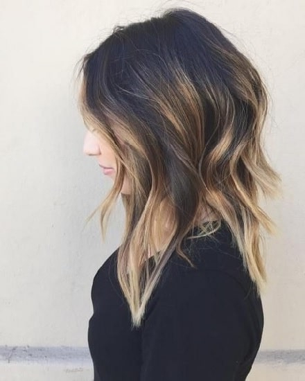 45 Flawless Medium Hairstyles For Women With Thin Hair [2019] Pertaining To Medium Long Haircuts For Thin Hair (View 2 of 25)